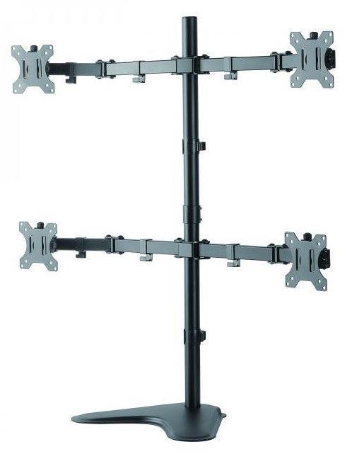 Sbox LCD-F048 Desktop Stand for 4 Monitors