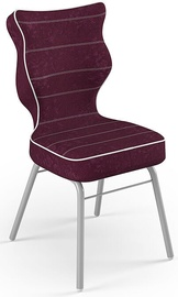 Детский стул Entelo Solo Size 3 VS07, серый/фиолетовый, 310 мм x 695 мм