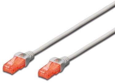 Digitus Patch Cable CAT 6 U/UTP 0.5m Grey