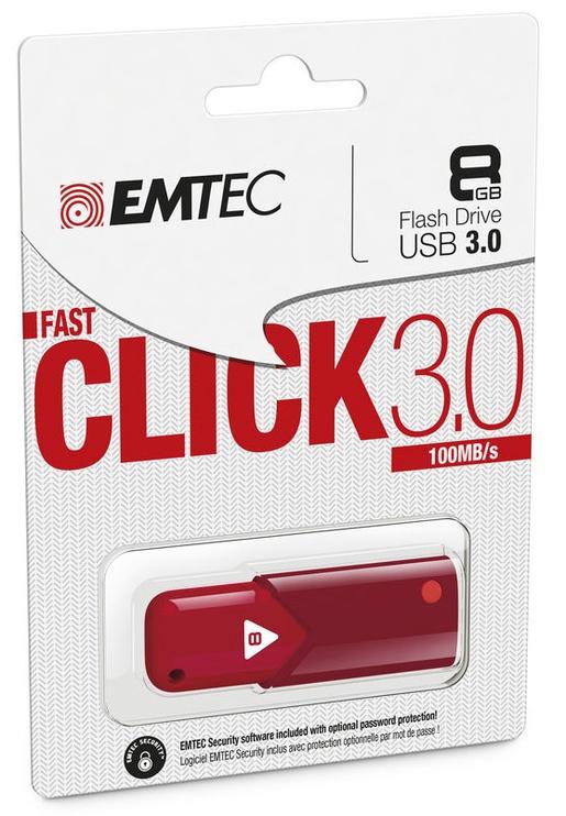 Emtec Click B100 8GB USB 3.0 Red