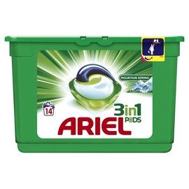 Ariel Mountain Spring Liquid Tabs 14pcs