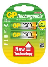 GP Batteries 2500 Series Ultimate Rechargeable Ni-MH 2xAA