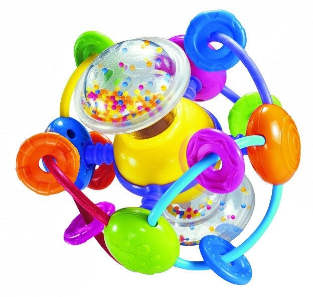 Bkids Rattle Ball With Beads