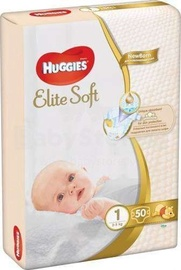 Mähkmed Huggies Elite Soft 1 suurus, 50tk
