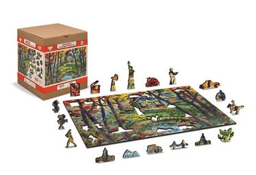 3D пазл Wooden City A cottage in the woods US0040-L, 400 шт.