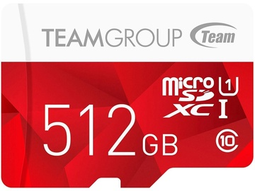 Team Group Color 512GB microSDXC UHS-1 Red