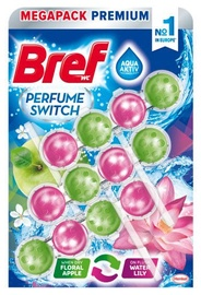 Henkel Bref Power Aktiv Floral Apple Water Lily 3x50g
