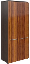 Skyland Morris MHC 85.1 Office Wardrobe 85.4x195.6x42.3cm Wenge Magic/Macassar