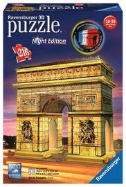 3D dėlionė Ravensburger Arc De Triomphe Night Edition 12522, 216 dalių