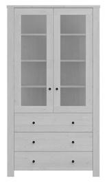 Black Red White Amsterdam Glass Door Cabinet 200x110cm Grey