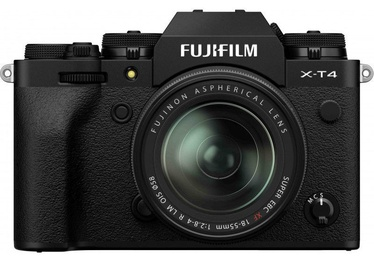 Fujifilm X-T4 Mirrorless Camera Black + Fujinon XF 18-55mm f/2.8-4 R LM OIS