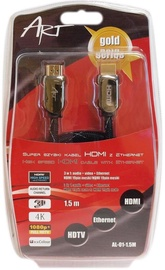 ART Cable Ethernet HDMI / HDMI 1.5m
