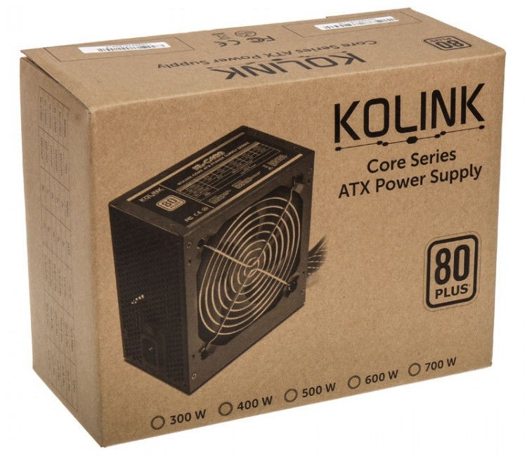 Kolink Core 80 Plus PSU 400W
