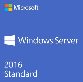 Microsoft Windows Server 2016 Standard License OEM 16-Core ROK
