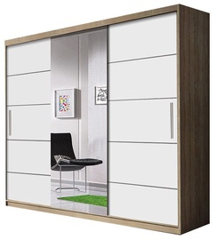 Idzczak Meble Wardrobe Astra Sonoma Oak/White