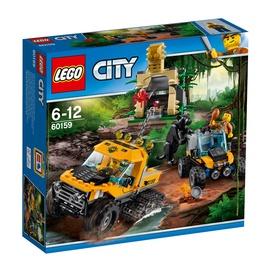 Konstruktorius LEGO City, Džiunglių visureigis  60159