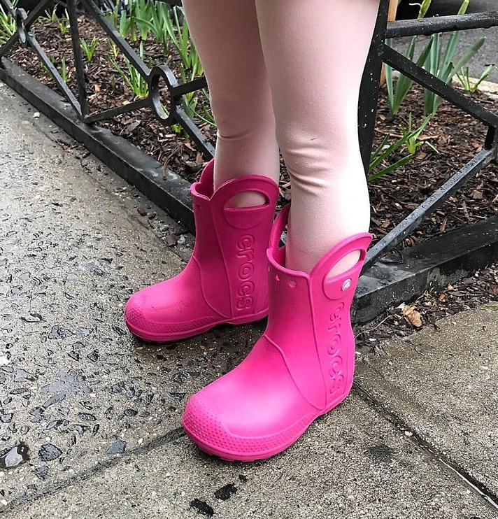 Crocs Kids' Handle It Rain Boot 12803-6X0 34-35