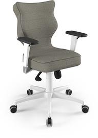 Entelo Perto White Office Chair TW33 Gray