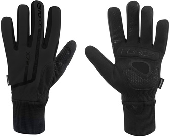Force X72 Full Gloves Black XXL