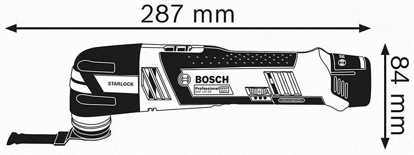 Bosch 06018B5001 GOP 12V-28 Multi Cutter w/L-Boxx