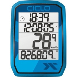 CicloSport Protos 205 Wireless Bike Computer Blue