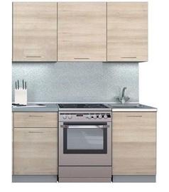 MN Simpl 1700 Kitchen Unit 1.7m Light Shima