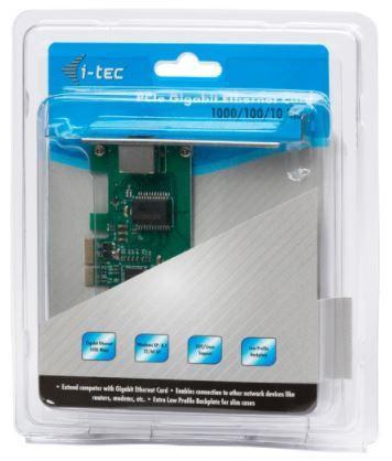 iTec PCI-Express Network Adapter RJ-45