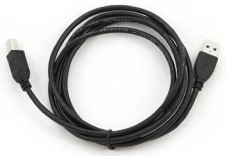 Gembird Cable USB / USB Black 1.8m