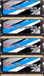 G.SKILL Ripjaws 32GB 3800MHz CL18 DDR4 KIT OF 4 F4-3800C18Q-32GRS
