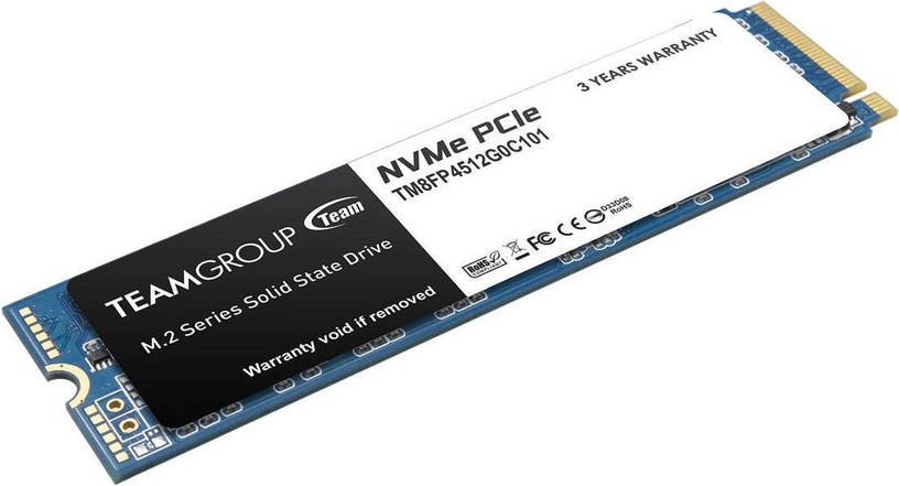 Team Group MP34 M.2 PCIe SSD 512GB