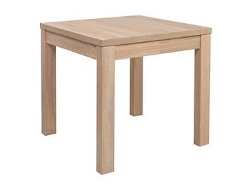 Обеденный стол Black Red White Baklawa, дубовый, 800x800x780мм