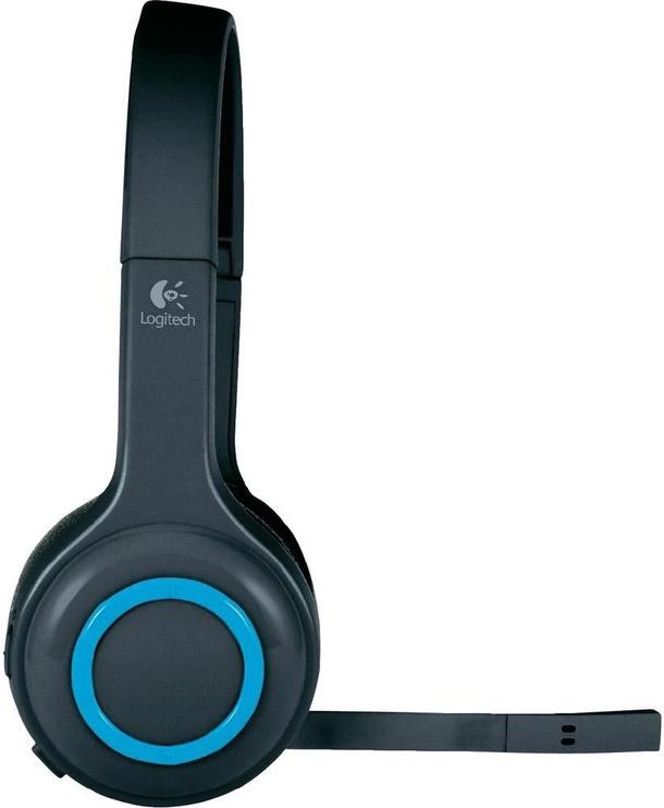 Belaidės ausinės Logitech H600 Black/Blue