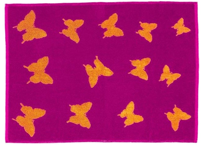 Bradley Towel 50x70cm Purple/Orange