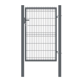 Garden Center Gate 100X173cm Grey