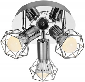 ActiveJet Blanka Spot Ceiling Lamp Silver 3x40W E14