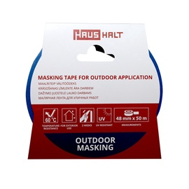 HausHalt Masking Tape For Outdoor Application 48mm 50m