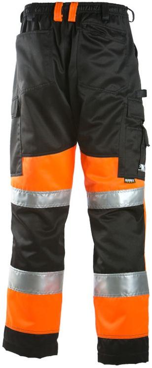 Dimex 6020 Trousers Orange/Black 56
