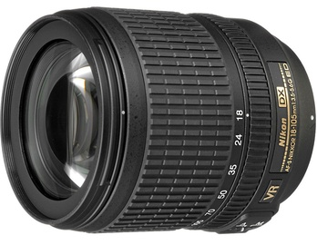 Nikon AF-S Nikkor DX 18-105/3.5-5.6 G VR ED