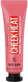 Grima bāze Maybelline 15 Nude Burn 15 Nude Burn, 8 ml