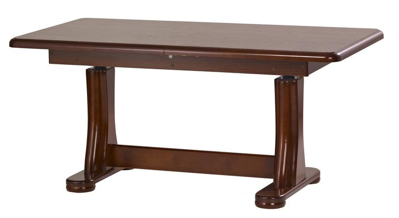 Kafijas galdiņš Halmar Tymon, brūna, 1640x650x750 mm
