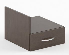 Skyland Simple SC-1V Office Cabinet Lengo Dark