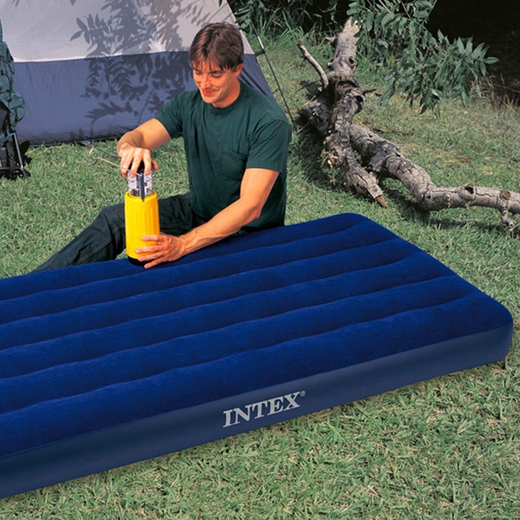 Täispuhutav madrats Intex 64757, sinine, 1910x990 mm