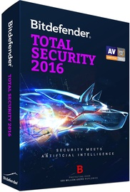 Bitdefender Total Security 2016 1Y 5U