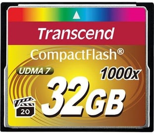 Transcend 32GB Compact Flash Ultimate 1000x