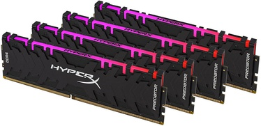 Kingston HyperX Predator RGB 32GB 3200MHz CL16 DDR4 KIT OF 4 HX432C16PB3AK4/32 (bojāts iepakojums)