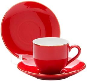 Mayer & Boch Cup Set 4pcs Red 8cl 24750