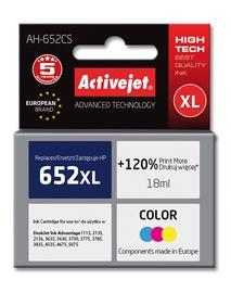 Кассета для принтера ActiveJet AH-652CS, желтый/циановый (cyan)/фуксия (magenta), 18 мл