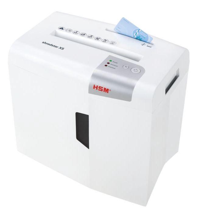 Уничтожитель бумаг HSM Shredstar X5, 4 x 30 mm