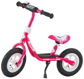 Milly Mally Dusty 10'' Balance Bike Pink White 3265