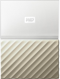 Western Digital 2TB My Passport Ultra USB 3.0 Gold WDBFKT0020BGD-WESN